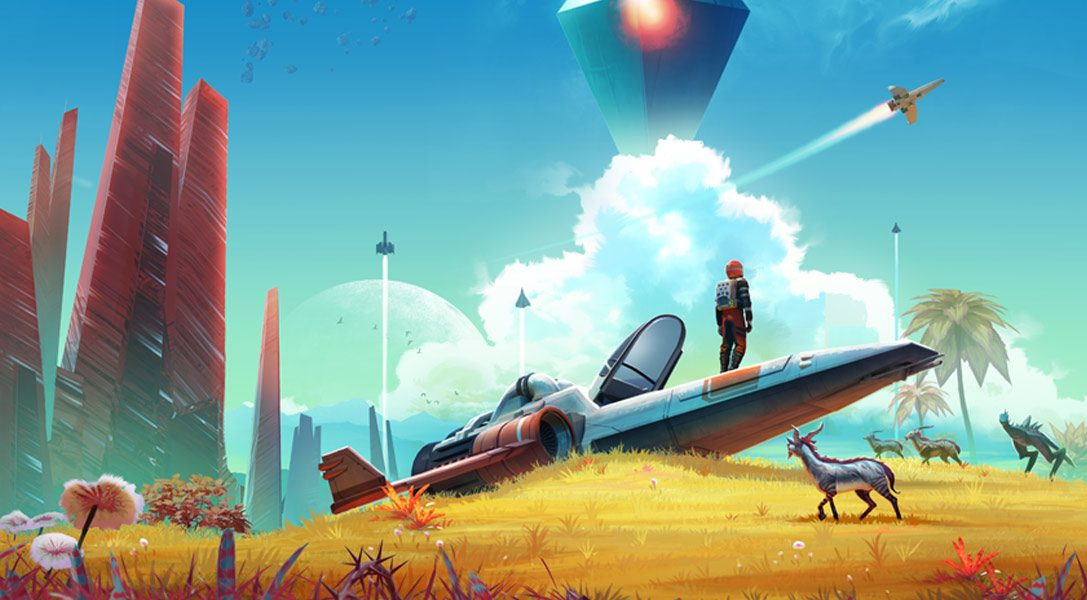La última actualización de No Man's Sky:  Atlas Rises trae una nueva historia y nuevas características
