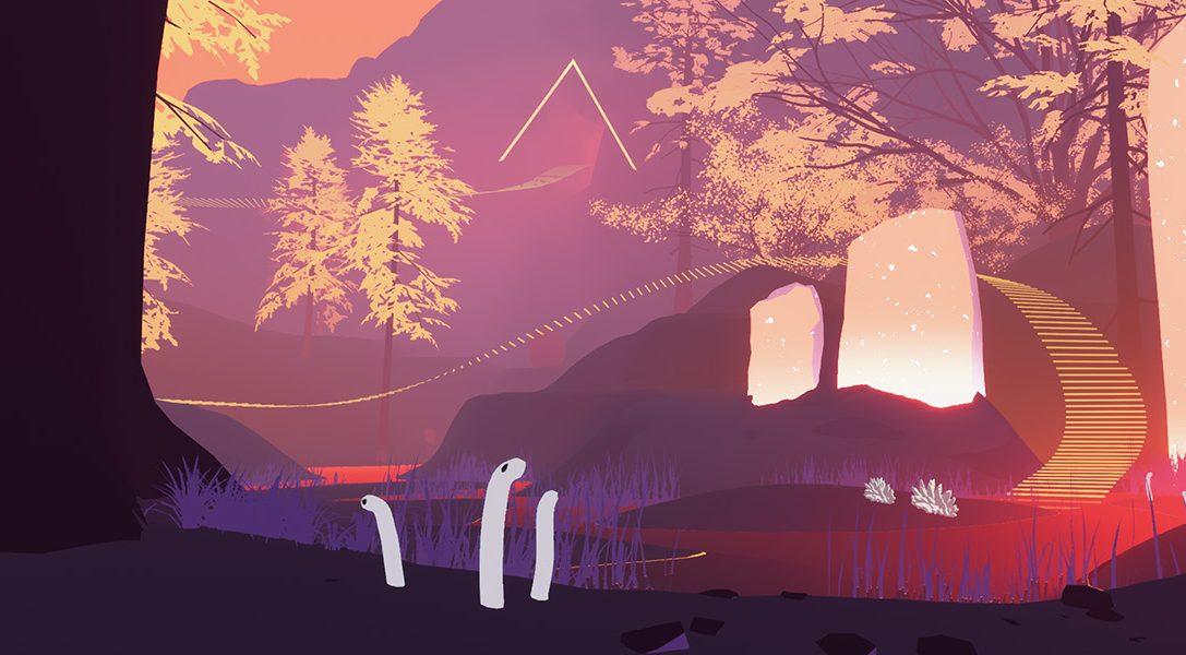 Descubre Shape of the World, el abstracto juego de exploración que llegará a PS4 a principios de 2018