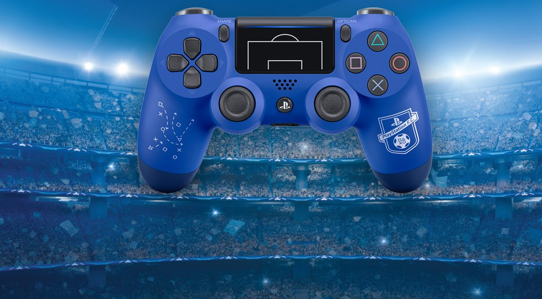 Nuevo DUALSHOCK 4 de PlayStation F.C.