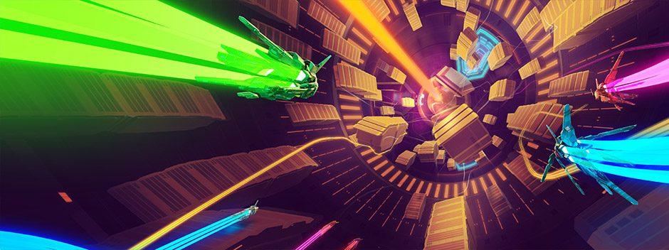 Lightfield | Construyendo las rutas múltiples de este juego de carreras y ciencia ficción que llega a PS4 el 26 de septiembre