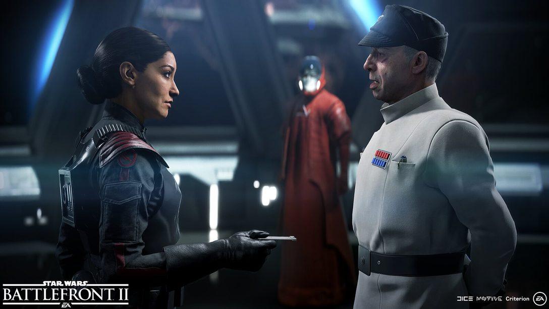Cómo los mensajeros promulgarán la venganza del emperador en Star Wars Battlefront II