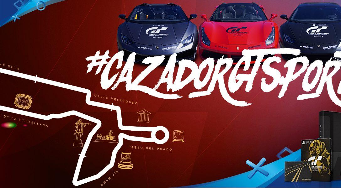 #CazadorGTSport | Captura los supercoches y gana superpremios de Gran Turismo Sport
