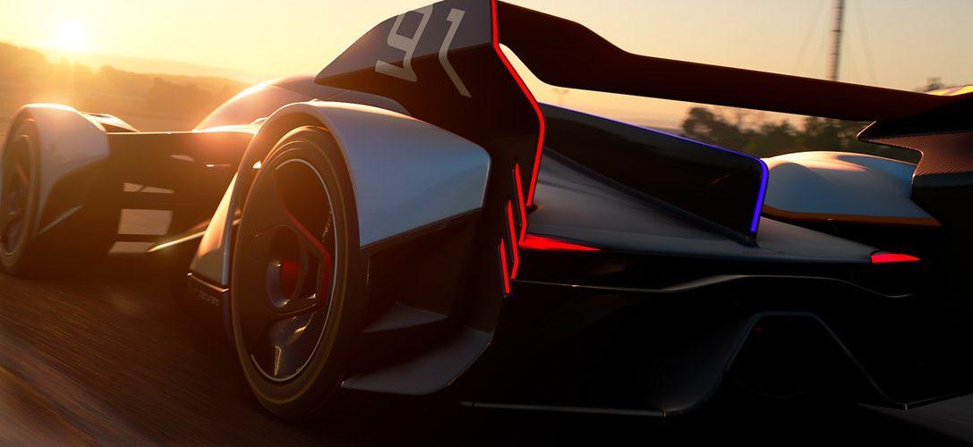 Gran Turismo Sport en colaboración con McLaren presenta el McLaren Ultimate Vision Gran Turismo
