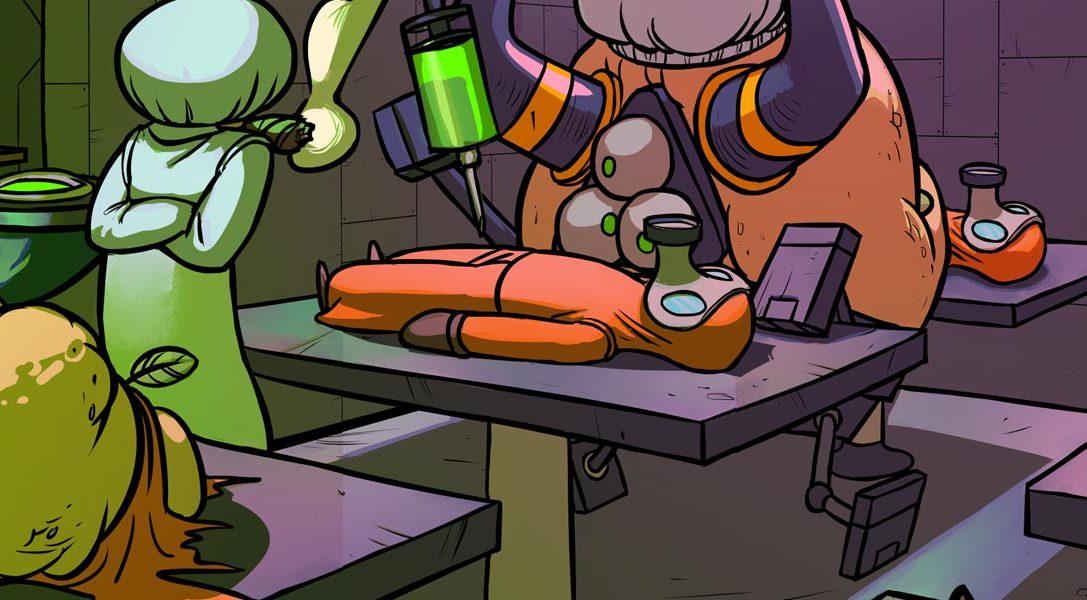Splasher, la última creación en 2D del diseñador de Rayman Origins, llega a PS4 la semana que viene