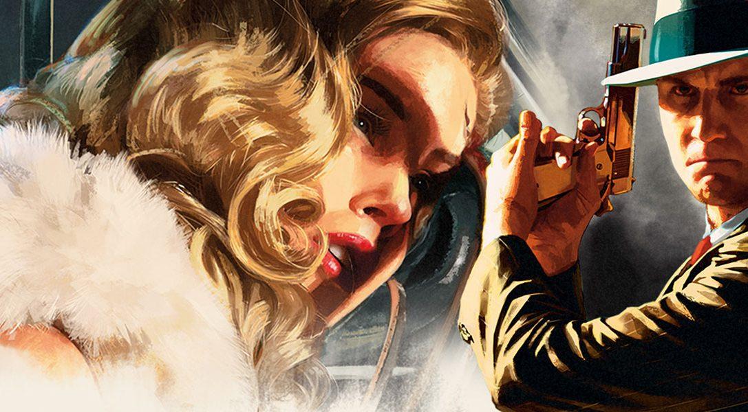 L.A. Noire, el thriller criminal de Rockstar, llegará a PS4 en noviembre