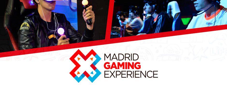 PlayStation estará en Madrid Gaming Experience | Del 27 al 29 de octubre