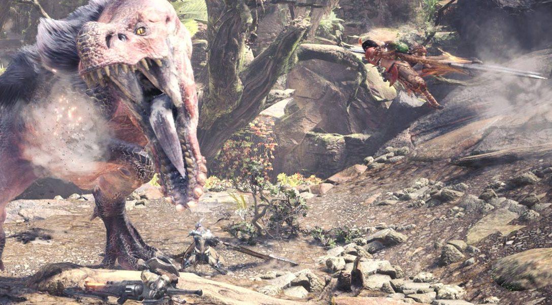 #PlayStationPGW | Mira la colaboración entre Monster Hunter: World y Horizon Zero Dawn en un nuevo tráiler
