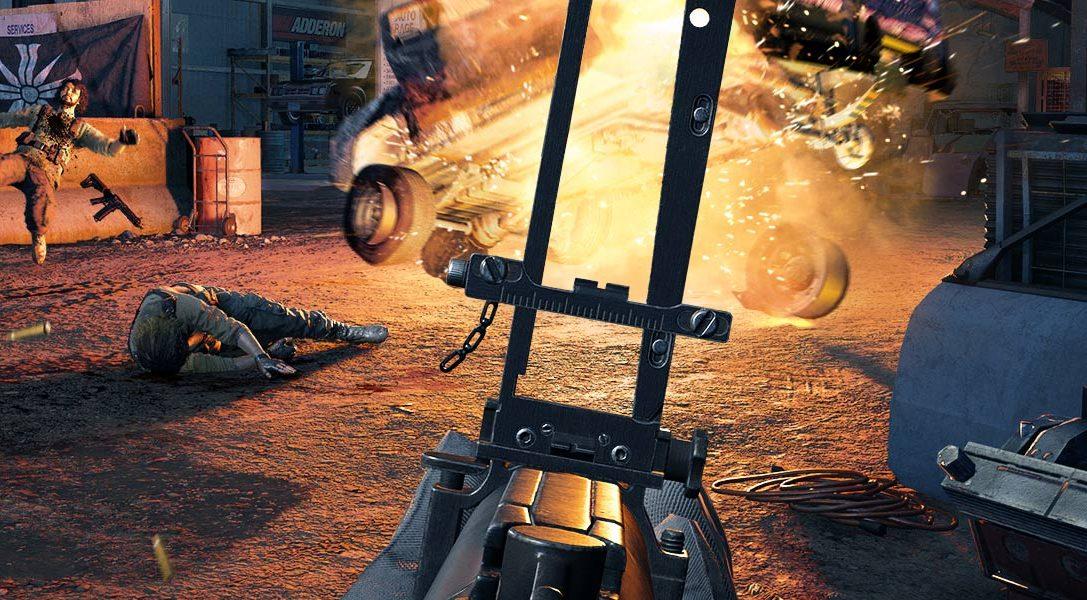 #PlayStationPGW   El nuevo trailer cooperativo de Far Cry 5 viene cargado de caos y acción