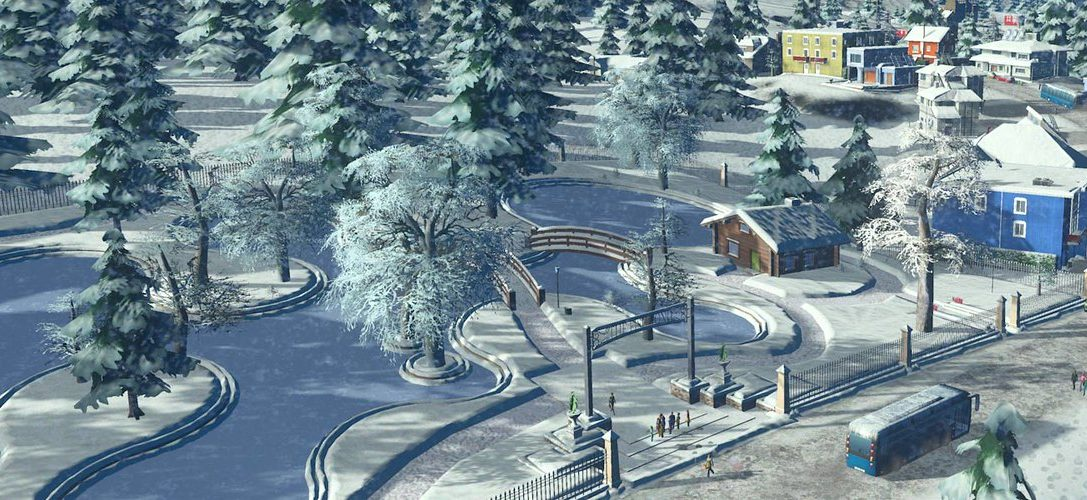 Desafía al frío invierno en Cities: Skylines – Snowfall para PS4