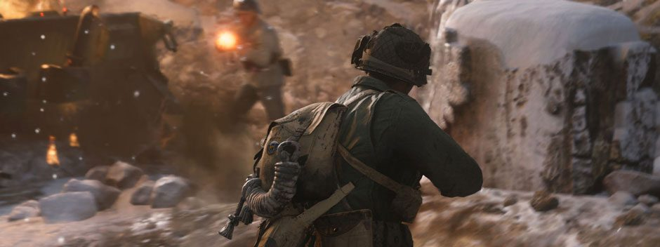 Call of Duty: WWII llega hoy a PS4