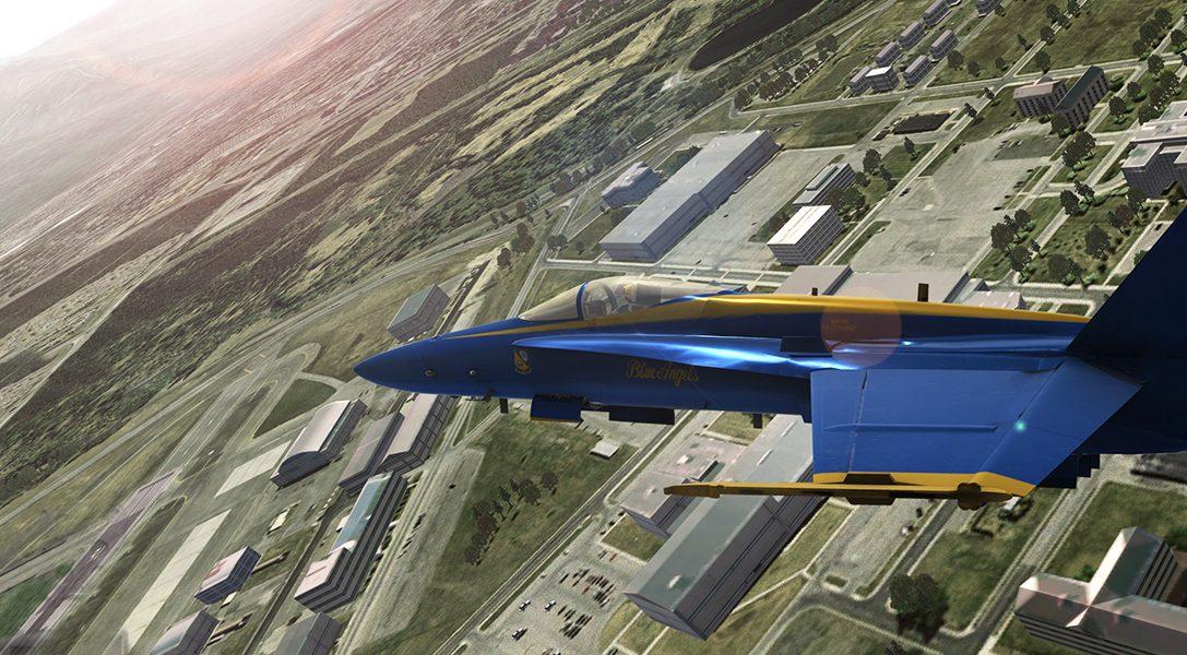 Un entusiasta de la aviación colaborando con la Marina de Estados Unidos para crear Blue Angels Flight Simulator para PS4