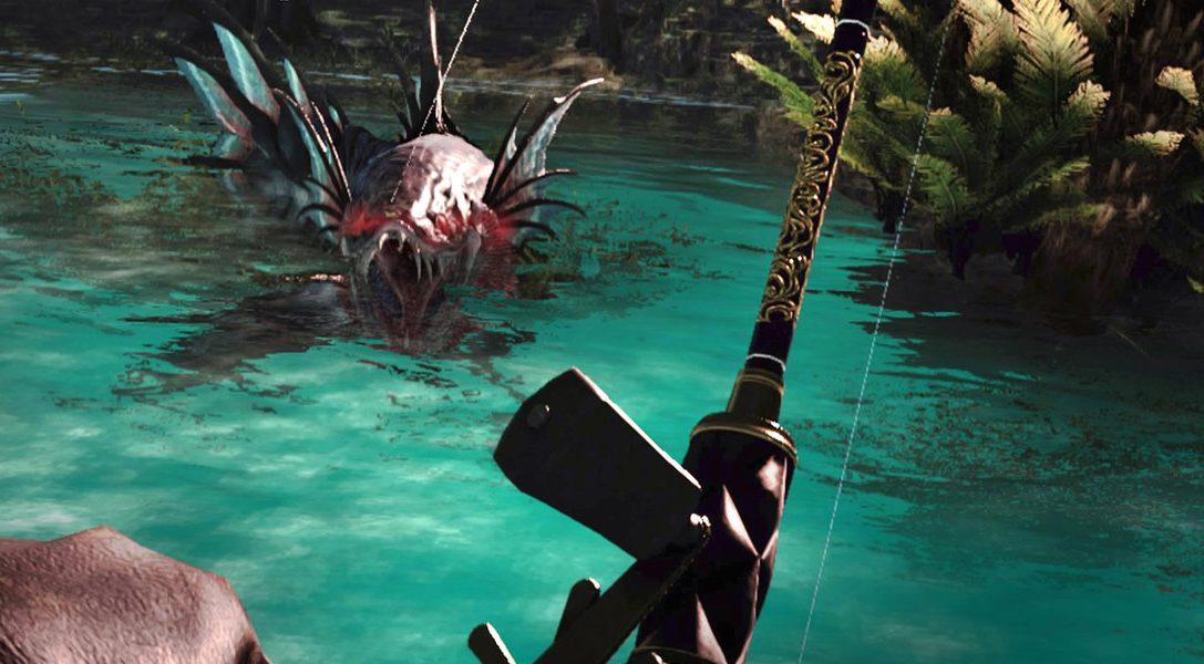 6 cosas que necesitas saber sobre Monster of the Deep: Final Fantasy XV para PS VR