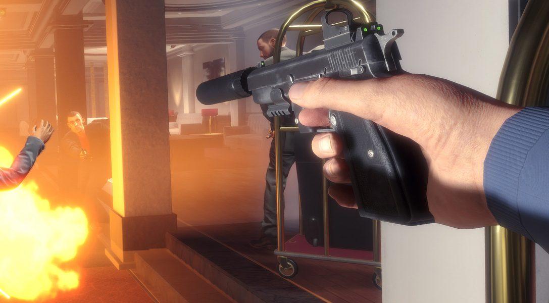 El shooter de acción para PS VR Blood and Truth consigue juntar lo mejor de John Wick, James Bond y John McClane