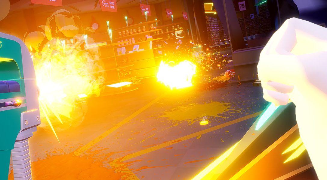 7 cosas que hay que saber sobre Shooty Fruity, el original shooter para PS VR que llega el 19 de diciembre