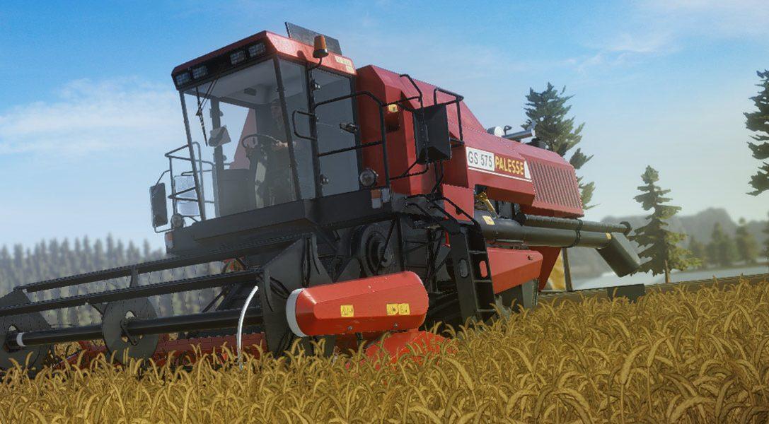 Construye tu imperio agrícola en PS4 con el simulador Pure Farming 2018
