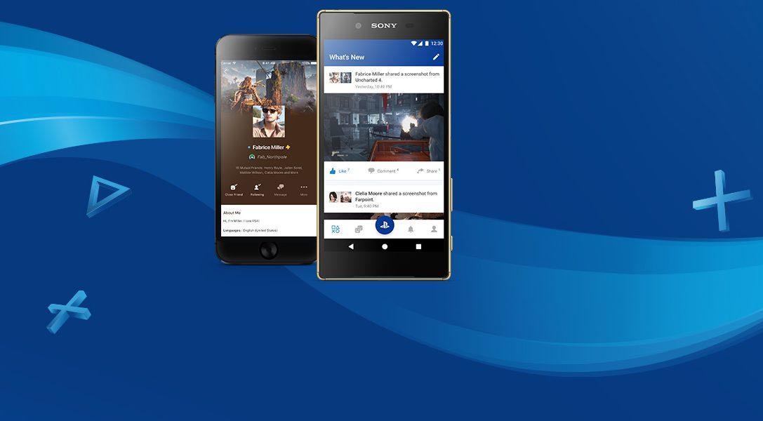 Presentamos el nuevo diseño de la PlayStation App y la nueva aplicación Segunda pantalla de PS4