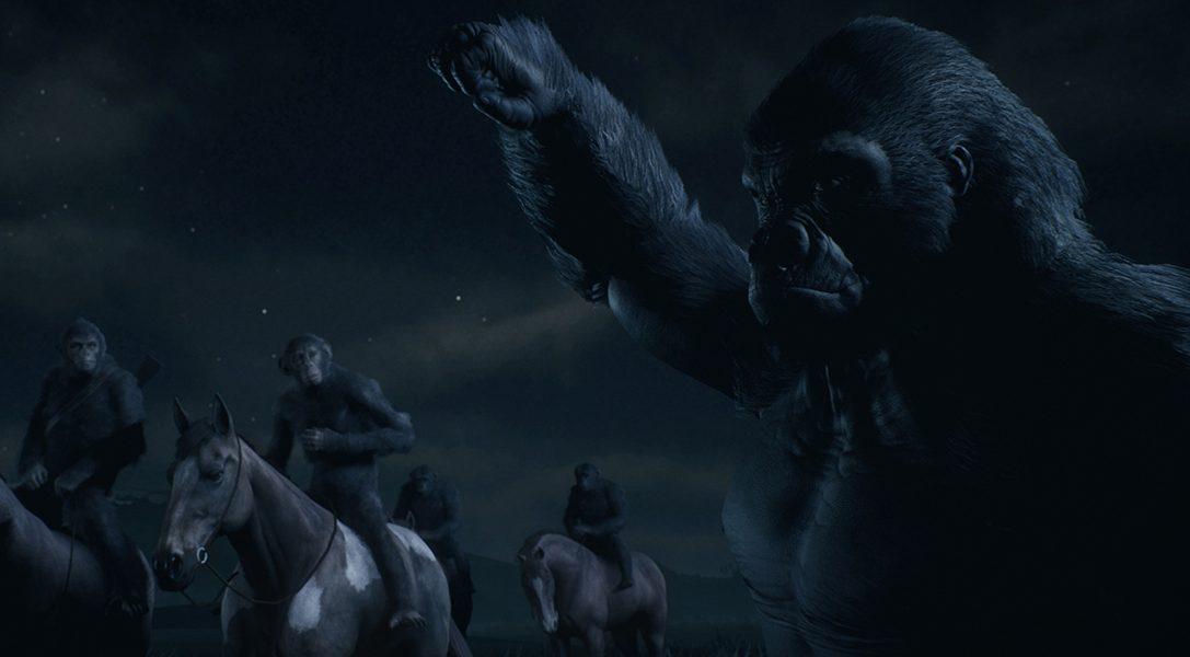 Planet of the Apes: Last Frontier se unirá a la gama PlayLink de PS4 el próximo 21 de noviembre