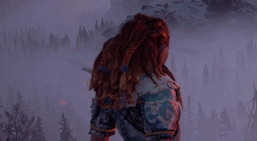 Disfruta de 12 minutos de juego de Horizon Zero Dawn: The Frozen Wilds