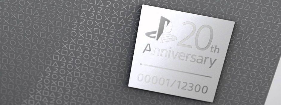 Participa en nuestro sorteo solidario de una PS4 20 aniversario