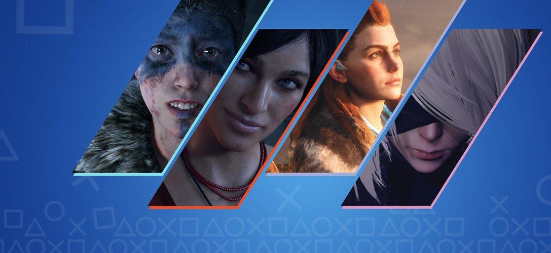 Diseñadores de videojuegos para PlayStation eligen a sus personajes favoritos de 2017
