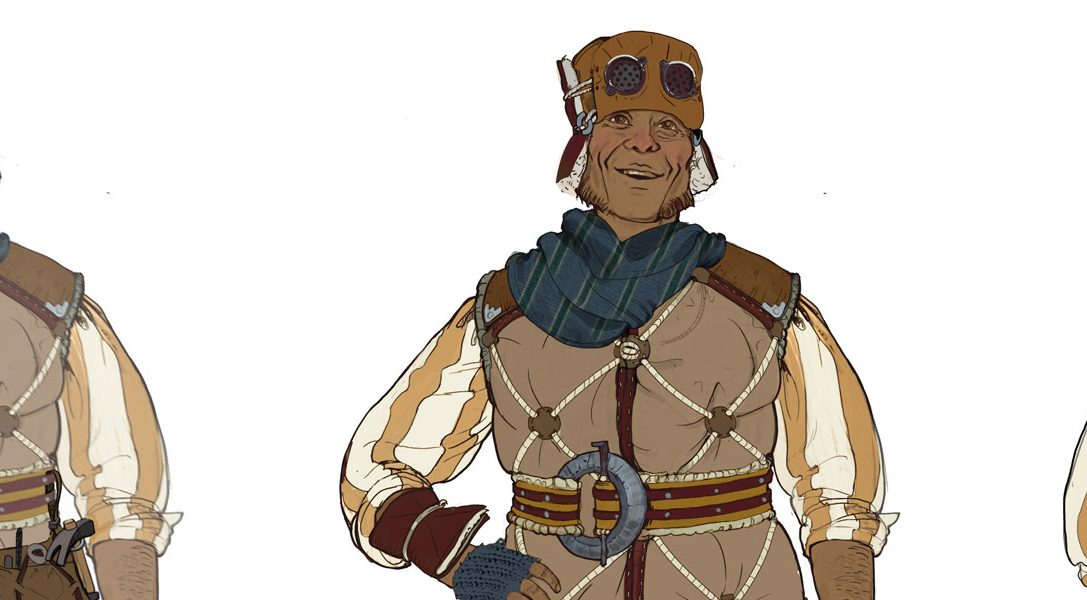 Creación de un personaje: Guerrilla explica el proceso de creación de Gildun