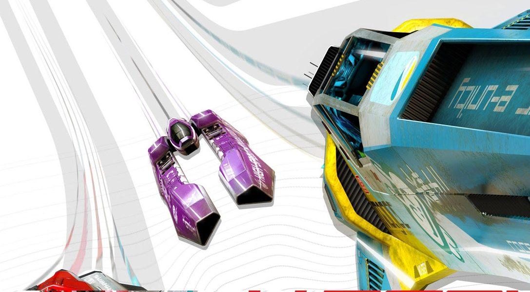 Vive la emoción de WipEout Omega Collection en PS VR con esta actualización gratuita