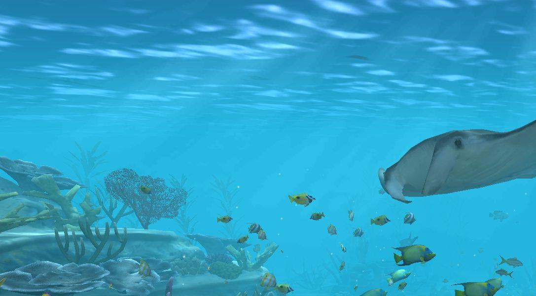 Convierte tu televisión en un acuario con Aqua TV y PlayStation 4