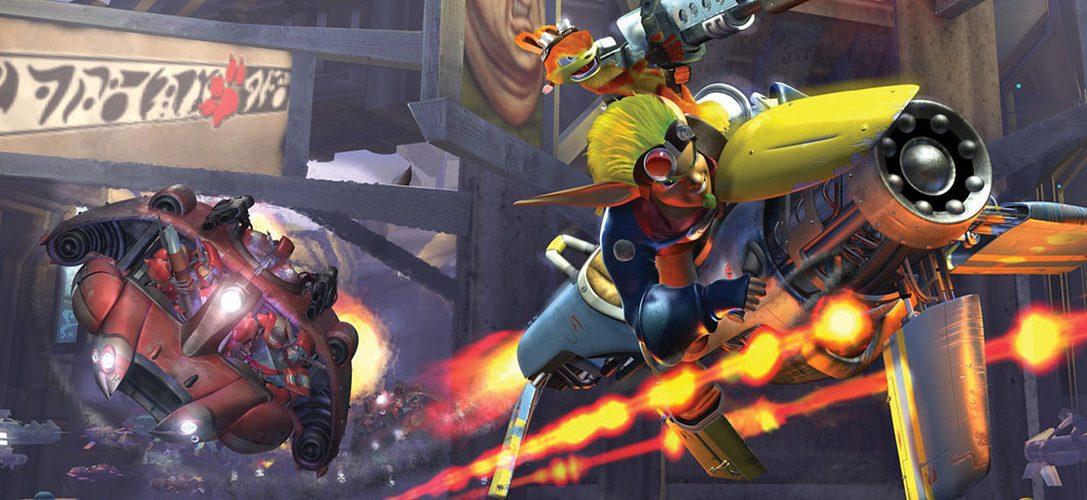Jak II, Jak 3 y Jak X Combat Racing llegan a PS4 el 6 de diciembre