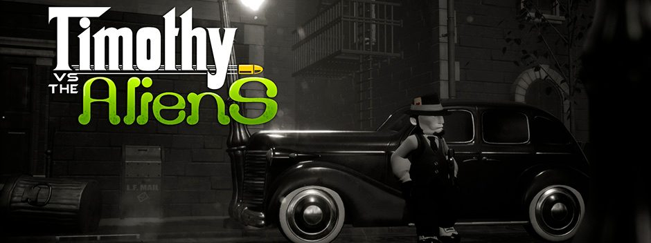 Timothy vs the Aliens llegará el 31 de enero a PlayStation 4