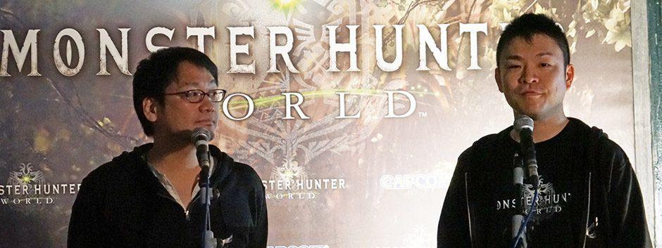 Entrevistamos a los creadores de Monster Hunter: World
