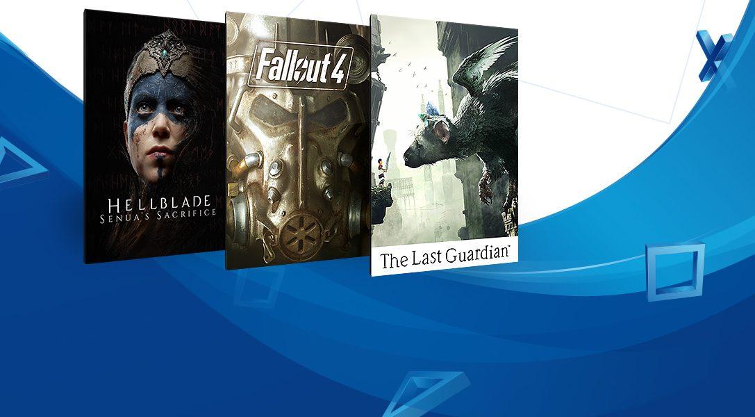 La promoción 'Juegos por menos de 20 €' arranca hoy en PlayStation Store