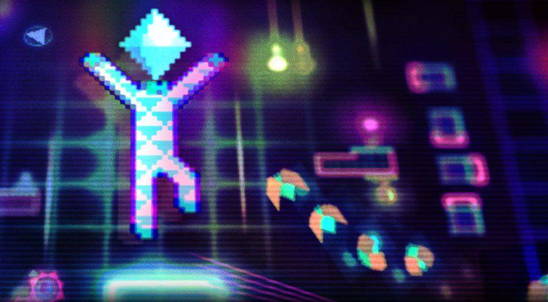 El mes que viene llega a PS4 el psicodélico juego de plataformas de acción vertical Octahedron