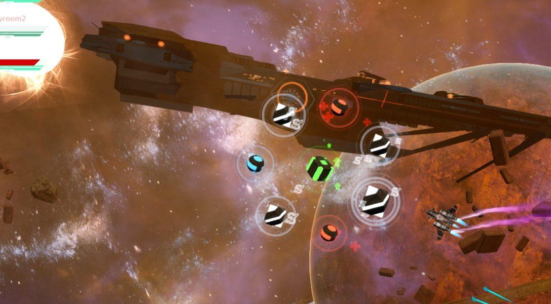 Compite por las mejores recompensas en Rifstar Raiders, un arcade de disparos y ciencia ficción que llega a PS4 la semana que viene