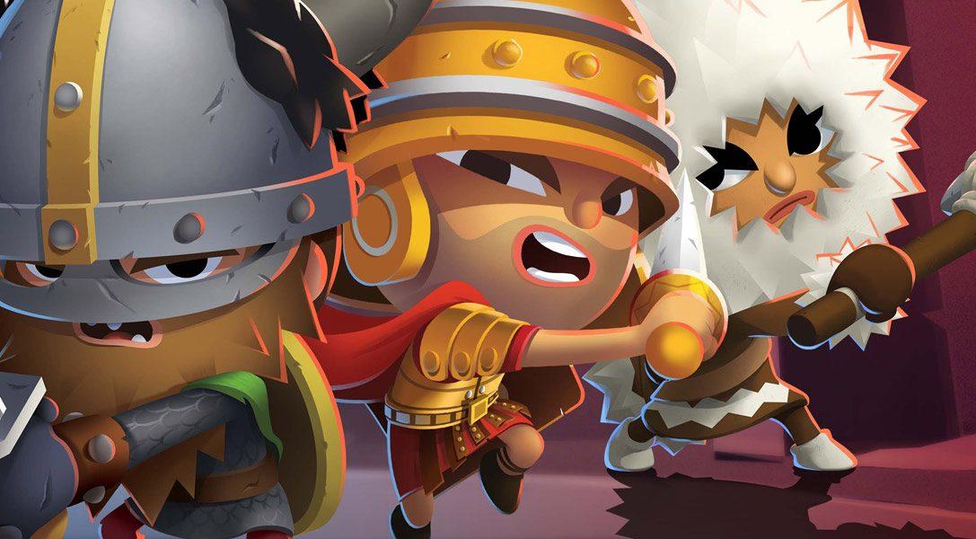 El título de lucha arena multijugador World of Warriors desatará la guerra en PS4 este marzo