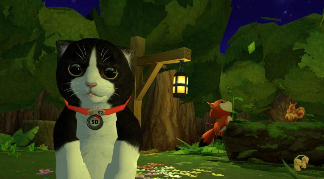 Te presentamos a Konrad The Kitten: el gatito del simulador de mascotas virtual para PS VR