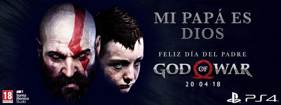 #MiPapáEsDios   Celebra el Día del Padre con God of War