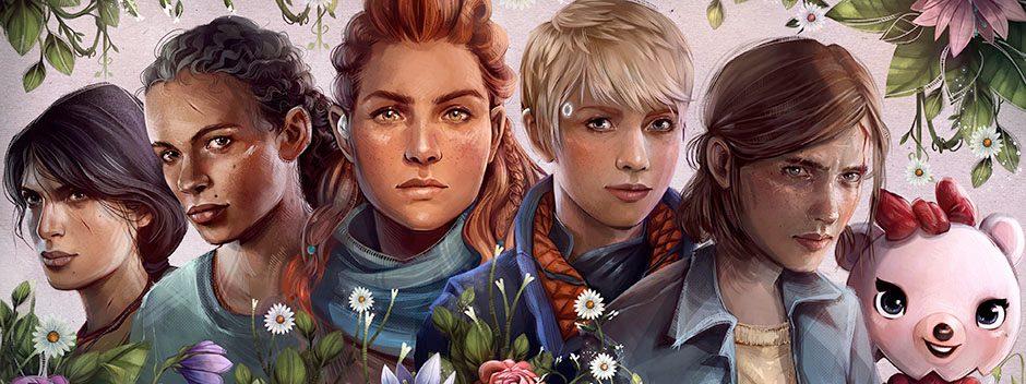 Celebra con PlayStation el Día Internacional de la Mujer