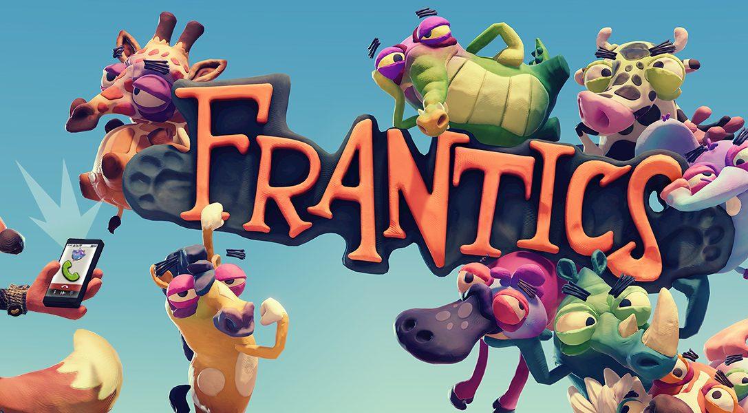 Traiciona a tus amigos en el descacharrante juego multijugador Frantics para PlayLink, disponible mañana