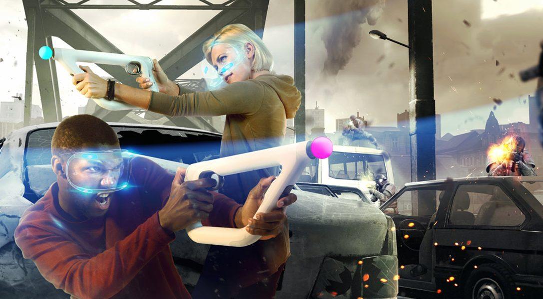 Cómo se juega a Bravo Team con el mando pistola de PS VR, PlayStation Move y el DUALSHOCK 4