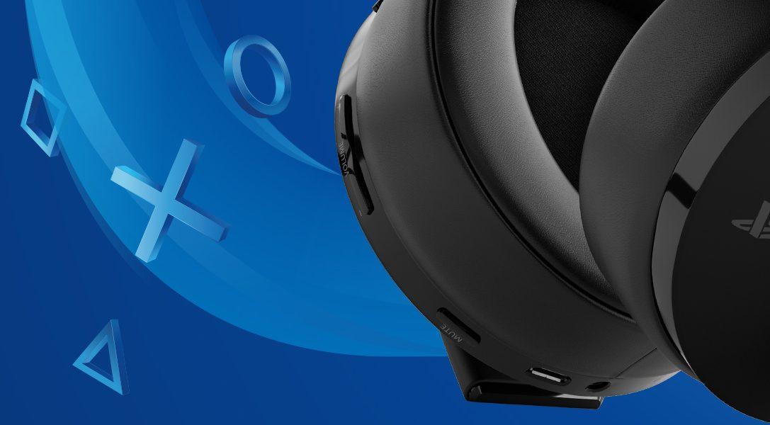 Presentamos el nuevo Gold Wireless Headset para PS4 y PS VR que estará disponible el 10 de abril