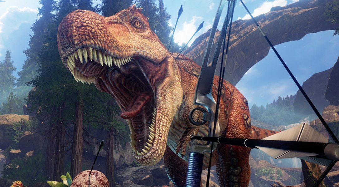Criad y cabalgad sobre dinosaurios en Ark Park, el nuevo juego de PS VR relacionado con Ark: Survival Evolved que llega este mes