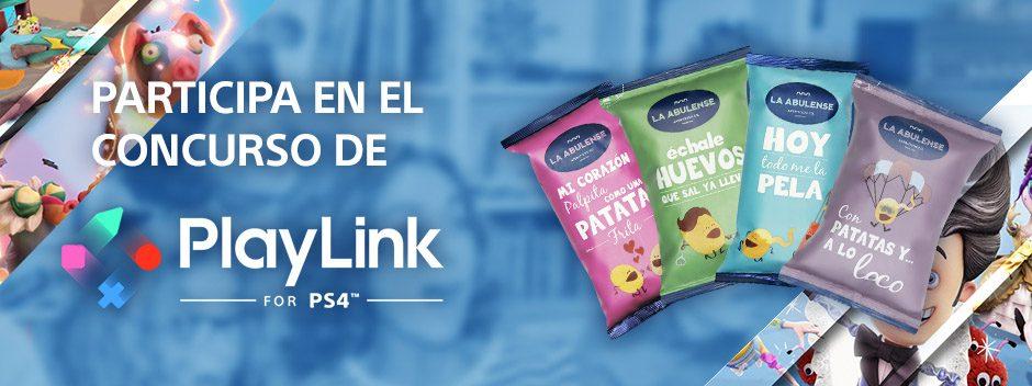 Participa en el concurso de PlayLink   Sube tu foto y te mandamos los snacks a casa