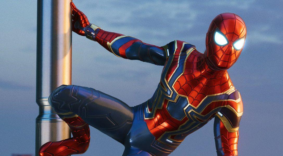 El traje Iron Spider inspirado en la película Vengadores: Infinity War llega a Marvel's Spider-Man el 7 de septiembre