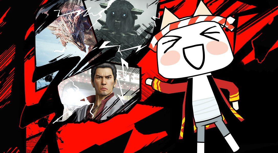 Los descuentos 'Grandes éxitos en Japón' regresan hoy a PlayStation Store