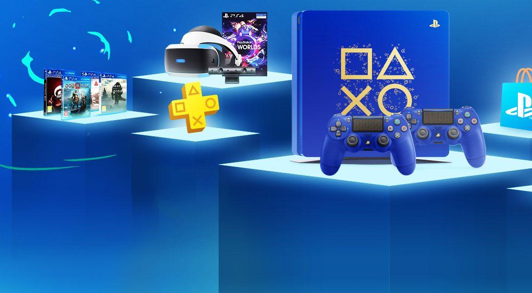 Days of Play regresa con 11 días de grandes descuentos y una nueva consola PS4 de edición limitada