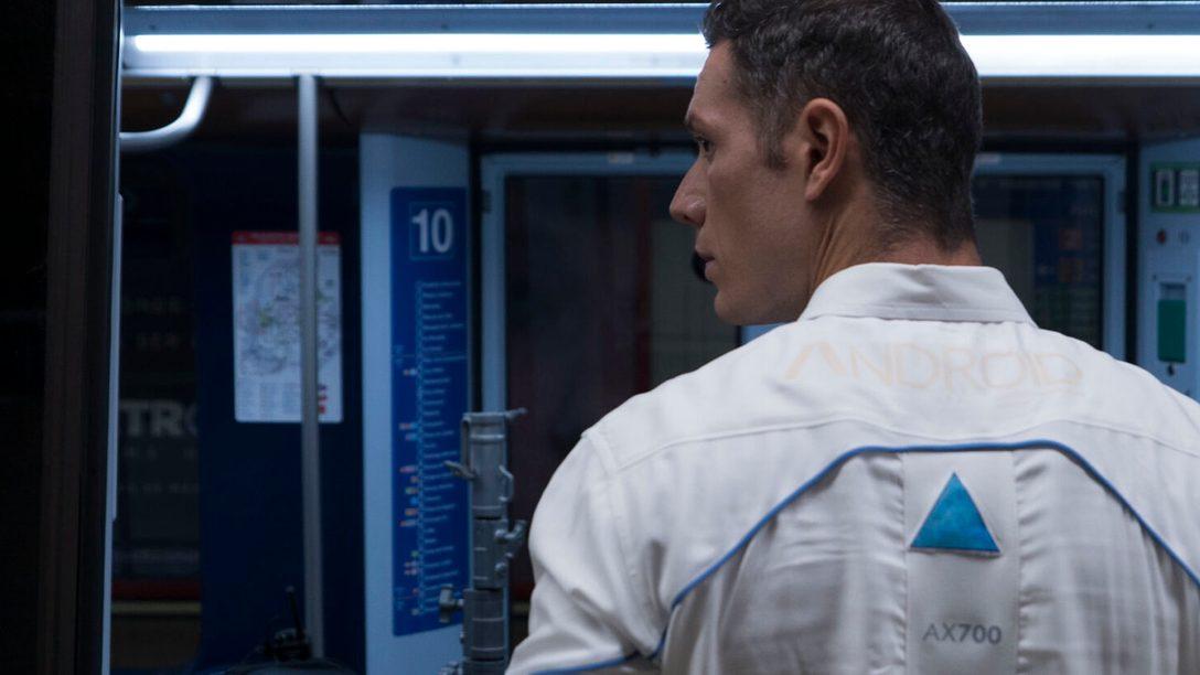 Los androides de Detroit: Become Human llegan al metro de Madrid