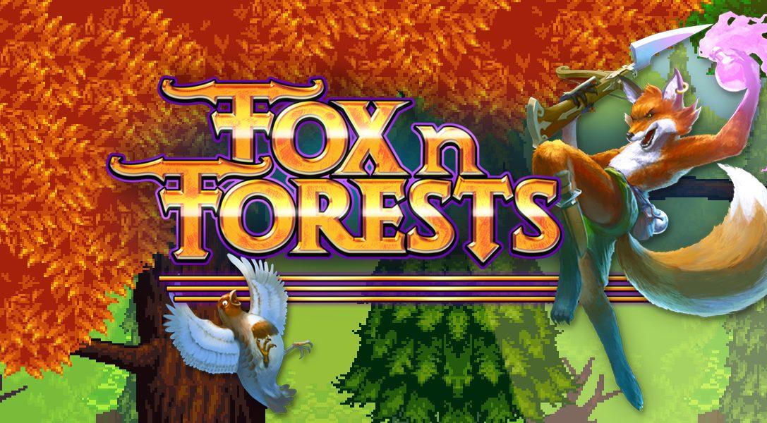 Fox n Forests, el RPG de plataformas de inspiración 16 bits llega hoy a PS4