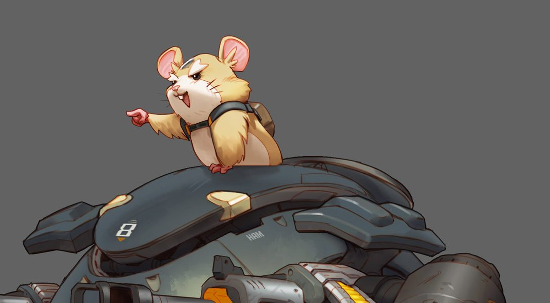 Por qué Blizzard decidió hacer su nuevo héroe de Overwatch a un mecha pilotado por un hámster