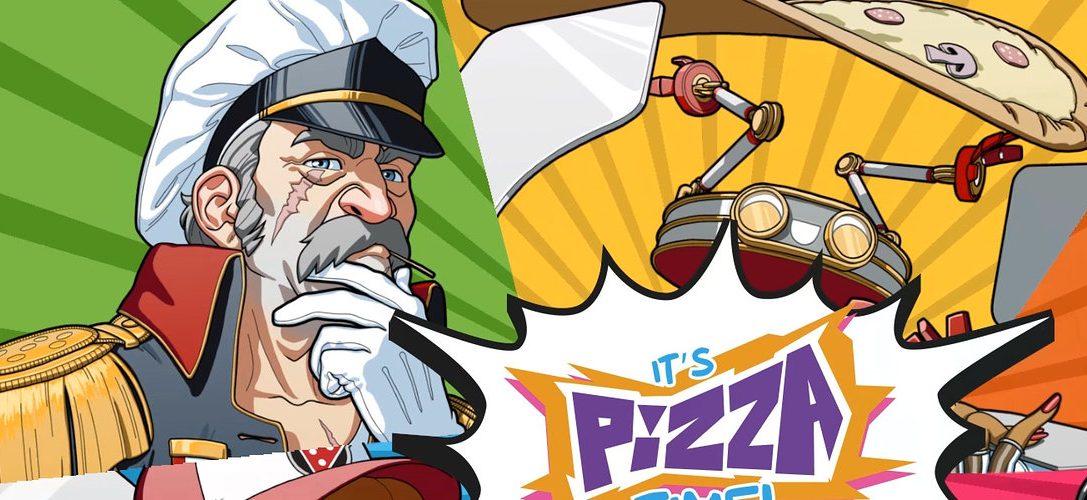 Intenta no destruir la ciudad mientras repartes pizza con un robot gigante en Pizza Titan Ultra