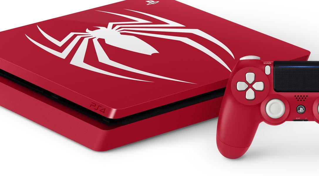 Presentamos los pack de edición limitada de PS4 y PS4 Pro de Marvel's Spider-Man